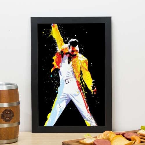 Quadro Freddie Mercury - 33x23 cm