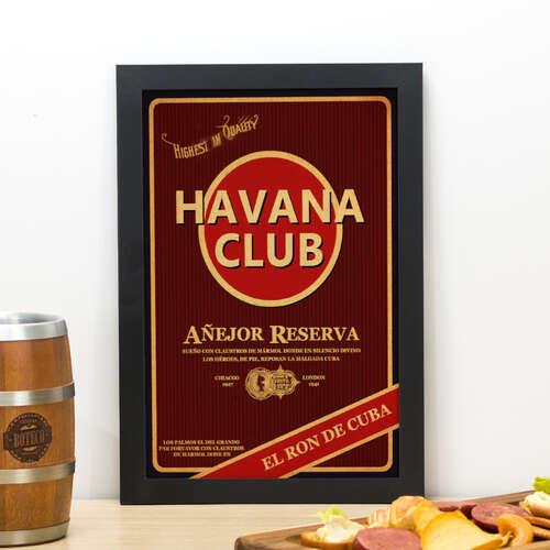 Quadro Havana - 33x22 cm