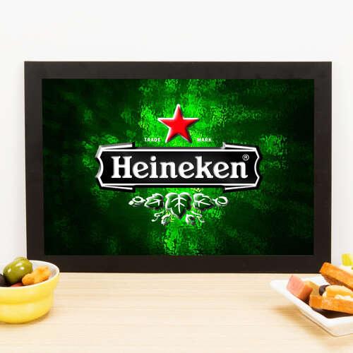 Quadro Heineken Star - 33x22 cm