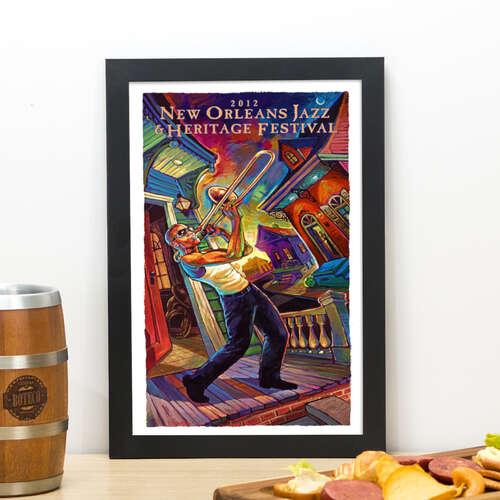 Quadro New Orleans Jazz -  33x22 cm