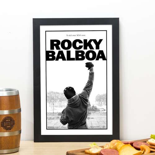 Quadro Rocky Balboa  - 33x22 cm