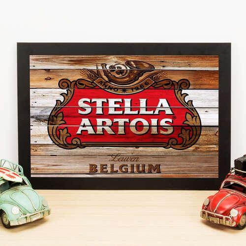 Quadro Stella Artois Origens - 22x33 cm