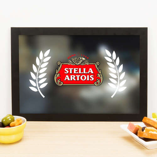 Quadro Stella Artois Grain - 33x22 cm