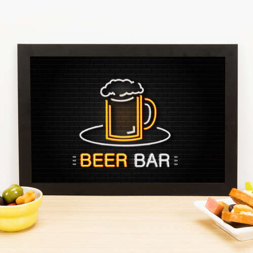 Quadro - Beer bar - 23x33 cm