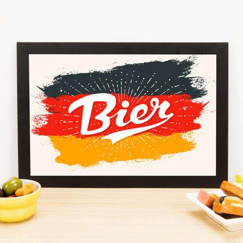 Quadro - Bier - 23x33 cm