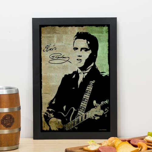 Quadro - Elvis - 33x22 cm