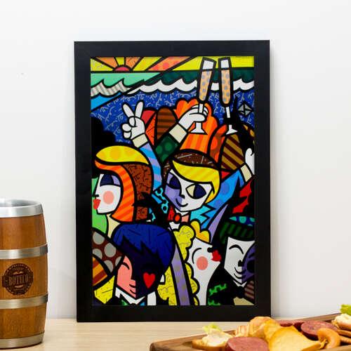 Quadro - Party - 33x22 cm